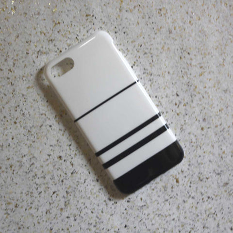 Black & White Stripes Phone Case - iPhone 7 - propshop-24