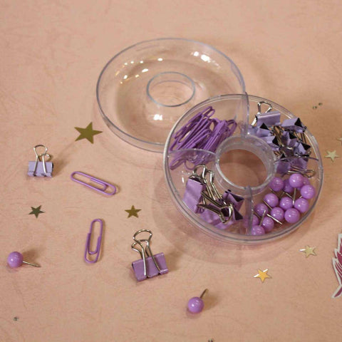 Mini Stationery Set - Purple - propshop-24