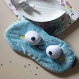 Furry Eye Mask - Mint-PERSONAL-PropShop24.com
