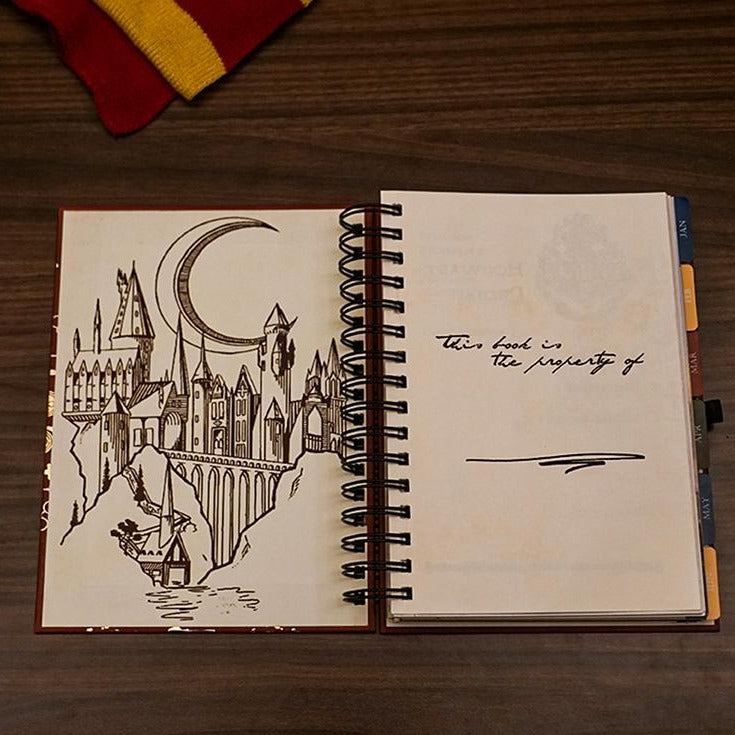 2021 Planner - Harry Potter - Daily Planner-NOTEBOOKS + PLANNERS-PropShop24.com
