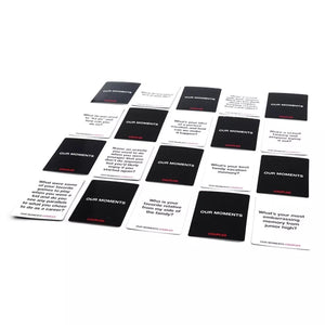 Couples Card Game - Our Moments - Pack Of 100 Cards-BAR + PARTY-PropShop24.com