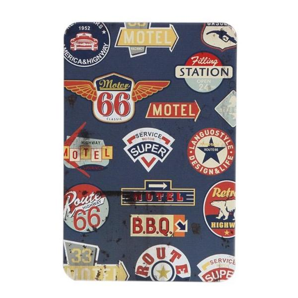 Bullet Travel Journal Daily Organizer - Retro Metal Cover Route 66-NOTEBOOKS + JOURNALS-PropShop24.com