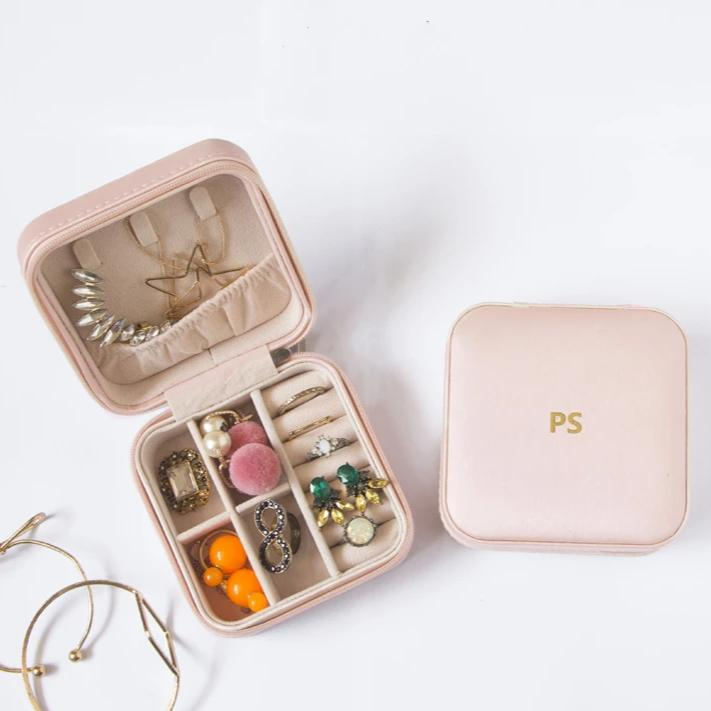 Personalized - Jewellery Box - Light Pink - C.O.D Not Available-HOME ACCESSORIES-PropShop24.com