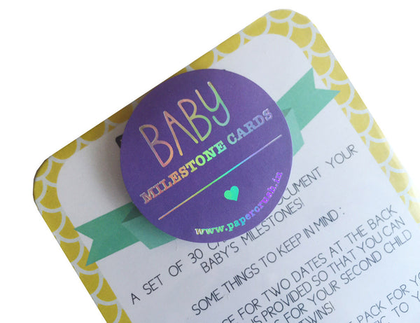 Baby Milestone Cards-Stationery-PropShop24.com