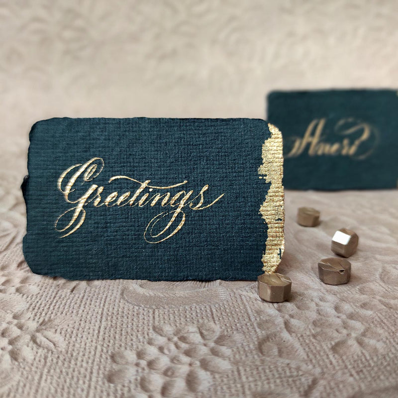 Personalized - Place Cards - Luxe And Timeless - Set Of 5 - C.O.D Not Available-GIFTING ACCESSORIES-PropShop24.com