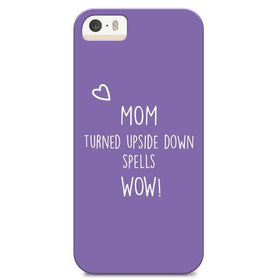 Phone Cover- Mom=Wow - Iphone6 /6S-GADGETS-PropShop24.com