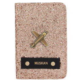 Personalized - Rose gold Glitter Passport cover - COD NOT AVAILABLE-FASHION-PropShop24.com