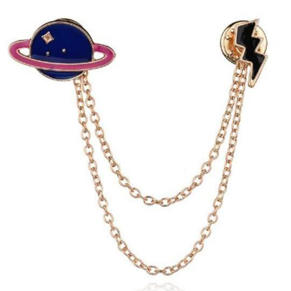 Brooch Pin - Planet Collar-FASHION-PropShop24.com