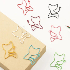 Paper Clips - Cat - Set of 4-STATIONERY-PropShop24.com