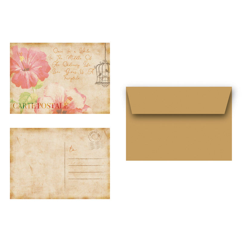 Carte Postale With Envelope-GREETING CARDS-PropShop24.com