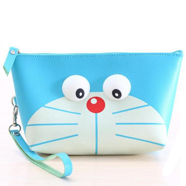 Popping Eyes Doraemon Makeup Pouch-FASHION-PropShop24.com