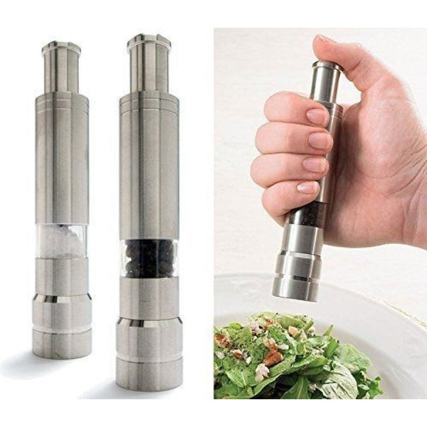 Pepper Mill with Thumb Grinder-Home-PropShop24.com
