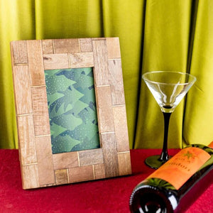 Photo Frame - Wood And Bamboo-HOME ACCESSORIES-PropShop24.com