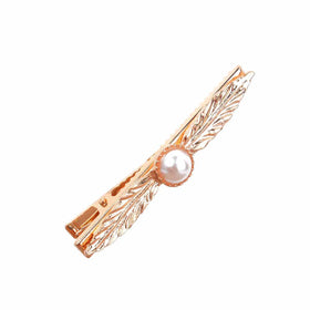 Pearl Feder Hair Pin-JEWELLERY-PropShop24.com