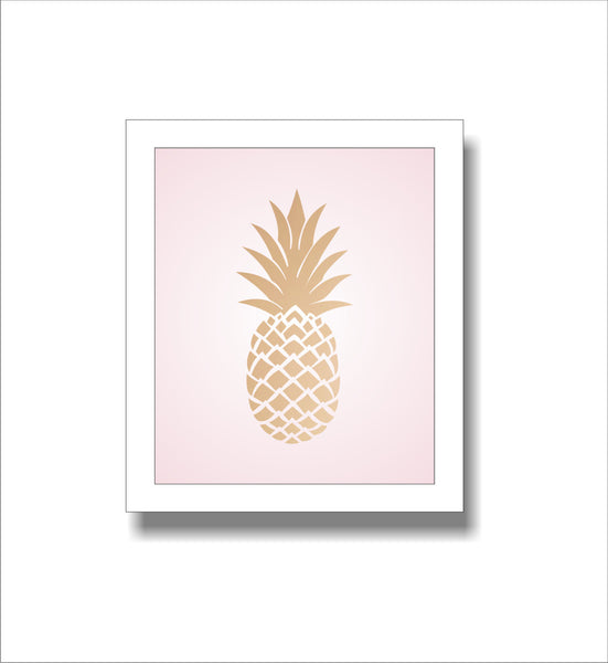 Frame- Gold Pineapple-Home-PropShop24.com
