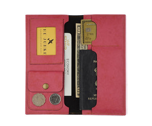 Personalized - Travel Wallet And Folder - Pink - C.O.D Not Available-WOMEN-PropShop24.com