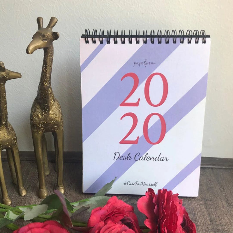 Care For Yourself 2020 Desk Calendar-DESK ACCESSORIES-PropShop24.com