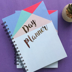Day Planner- Geometric-NOTEBOOKS + JOURNALS-PropShop24.com