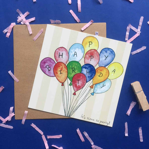 Greeting card-Happiest Birthday card-STATIONERY-PropShop24.com