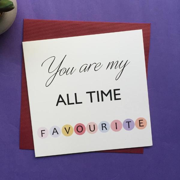 Greeting Card-All Time Favourite-STATIONERY-PropShop24.com
