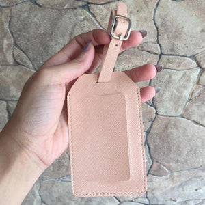Luggage Tag- Peach-Pink-TRAVEL ESSENTIALS-PropShop24.com