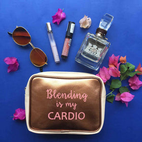 Makeup pouch-'Blending is my Cardio'-PERSONAL-PropShop24.com