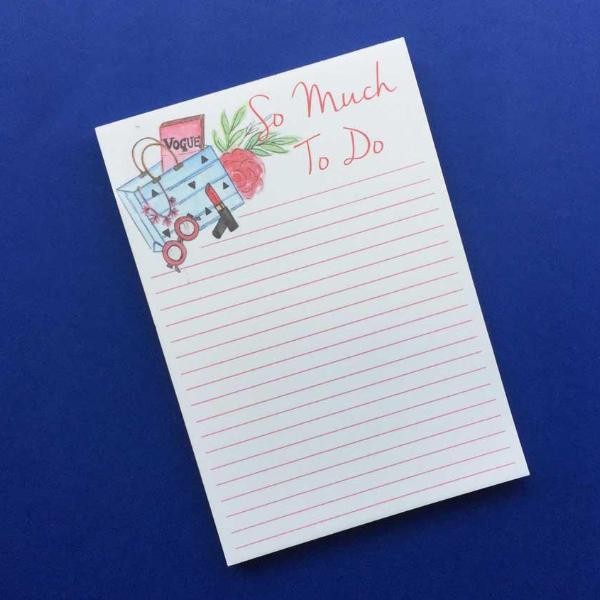 Magnetic Notepad - So Much To Do-NOTEBOOKS + JOURNALS-PropShop24.com