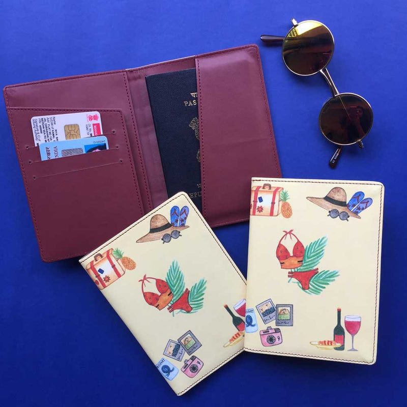 Passport Case - Beach Bum-TRAVEL ESSENTIALS-PropShop24.com