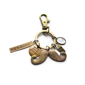 Personalized - Keychain - Moustache - C.O.D NOT AVAILABLE-FASHION-PropShop24.com