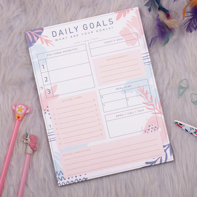 Daily Planner - Daily Goals-NOTEBOOKS + PLANNERS-PropShop24.com