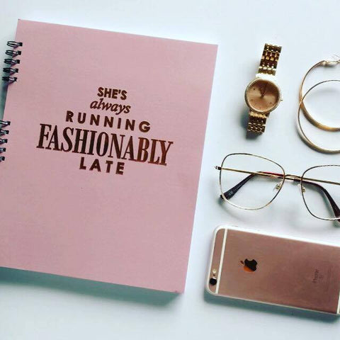 Planner - She's Fashionably Late-STATIONERY-PropShop24.com