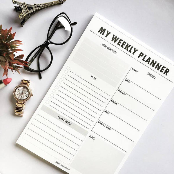My Weekly - Planner-STATIONERY-PropShop24.com