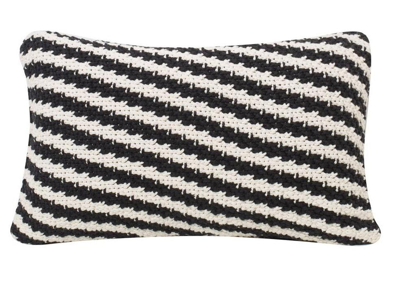 Ricardo Cotton Knitted Rectangle Cushion Cover-HOME ACCESSORIES-PropShop24.com