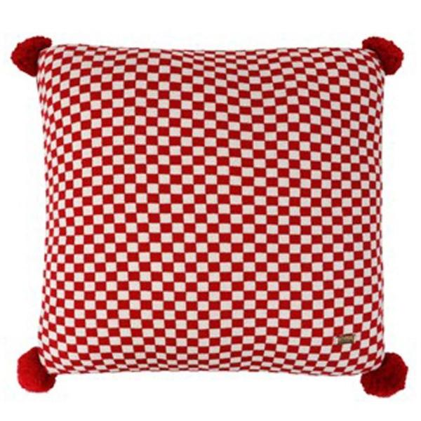 Harvey Checks Cushion Cover-HOME ACCESSORIES-PropShop24.com