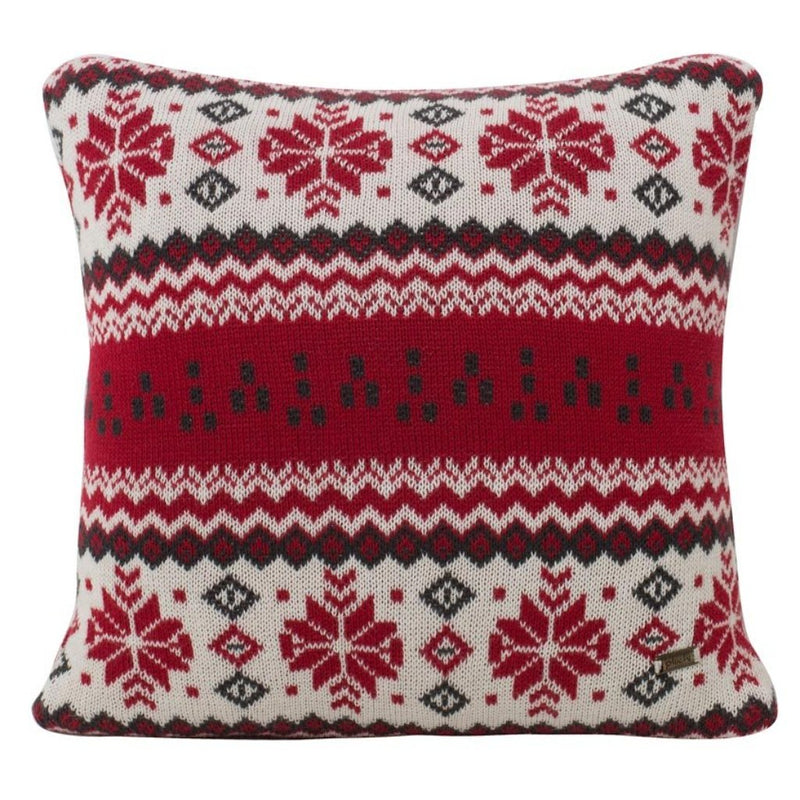 Thoe Cotton Knitted Square Cushion Cover-HOME ACCESSORIES-PropShop24.com