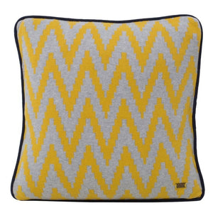 Ziggy Cotton Knitted Square Cushion Cover-HOME ACCESSORIES-PropShop24.com