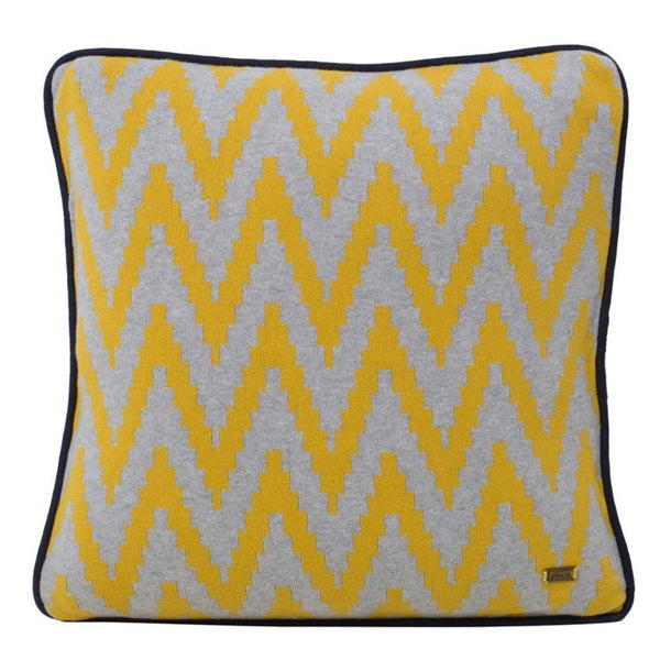 Ziggy Cotton Knitted Square Cushion Cover-HOME-PropShop24.com