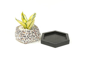Planter - Concrete Terrazzo - T-Mark-HOME ACCESSORIES-PropShop24.com