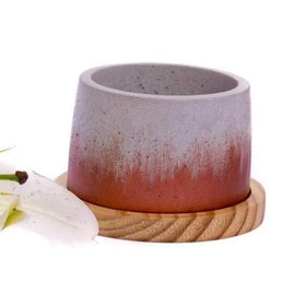 The Concrete Cavern Planter - Grey-HOME-PropShop24.com