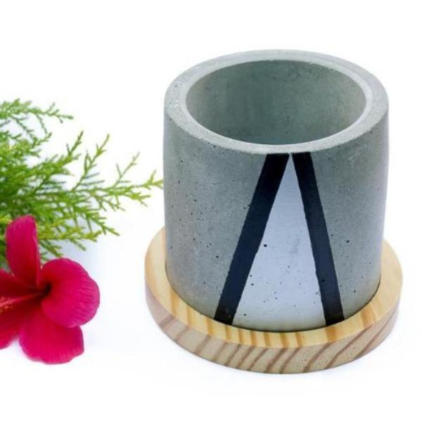 Circlet Planter - Grey-HOME-PropShop24.com