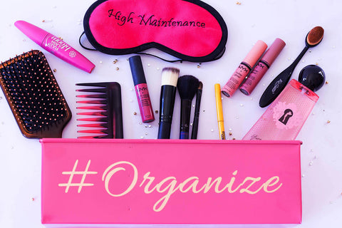 organizer - Lets Get Organised - Hot Pink-Stationery-PropShop24.com
