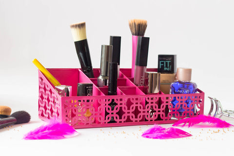 organizer - The Make Up Lover - Hot Pink-Home-PropShop24.com