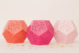 Multipurpose Organiser - hexagon - Hot Pink-Stationery-PropShop24.com