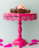 Cake Stand - Cant Get My Eyes Off You - Hot Pink-Home-PropShop24.com