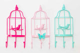 Birdie in a Cage Wall Organiser- Light Pink-HOME-PropShop24.com
