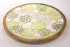 Serving Platter With Small Bowl - Printed Green-DINING + KITCHEN-PropShop24.com