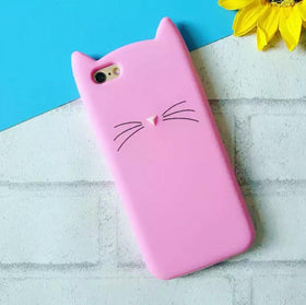 Soft Kitty Phone Cover - iPhone 7-GADGETS-PropShop24.com