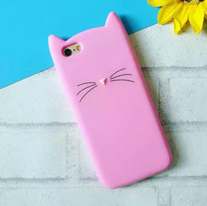 Soft Kitty Phone Cover - Iphone 7-PHONE CASES-PropShop24.com