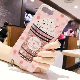Phone Cover - Unicorn Coffee - Pink-GADGETS-PropShop24.com