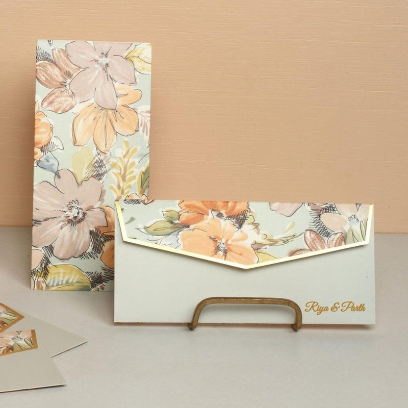 Personalized Money Envelopes - Floral - C.O.D Not Available-GIFTING ACCESSORIES-PropShop24.com